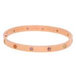 Cartier Rainbow Love Bracelet Size 19