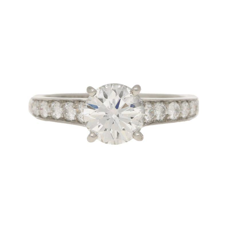 Cartier 1.62 carat Diamond Engagement Ring