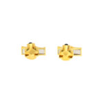 Panthère de Cartier Swivel Bar Cufflinks in 18k Yellow Gold