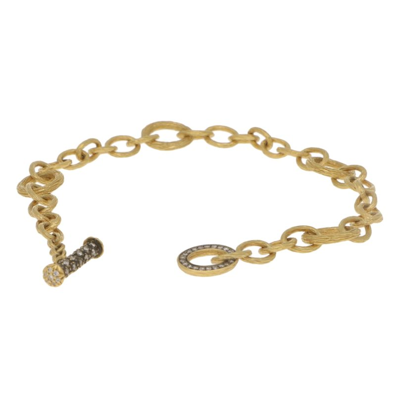Annoushka Diamond Charm Bracelet Set in 18k Yellow Gold