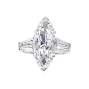 GIA certified 4.13ct Internally Flawless Marquise Diamond Ring