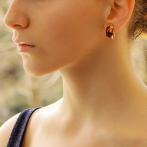 Bulgari Tronchetto Pink Tourmaline Clip Earrings Set in 18k