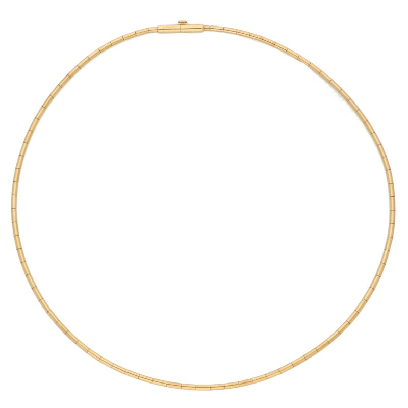 Cartier Torque Link Necklace Set in 18k Yellow Gold