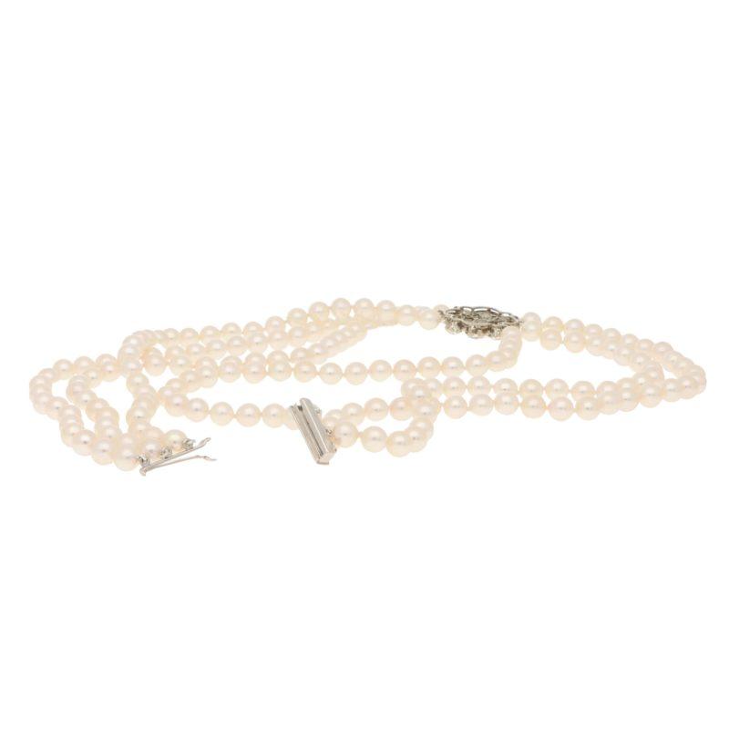 Diamond and Pearl Edwardian Choker Necklace
