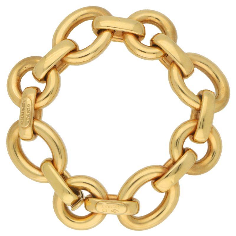 Chaumet Paris Chunky Chain Link Retro Bracelet