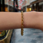 Chunky Chain Bracelet in 18k Yellow Gold