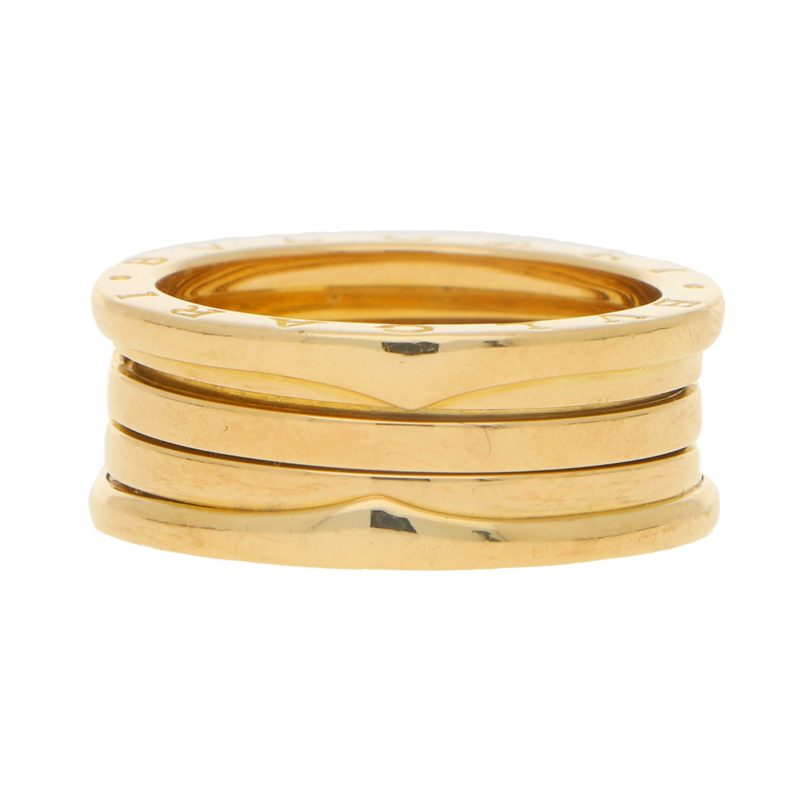 Bvlgari B.zero1 Band Ring in Yellow Gold