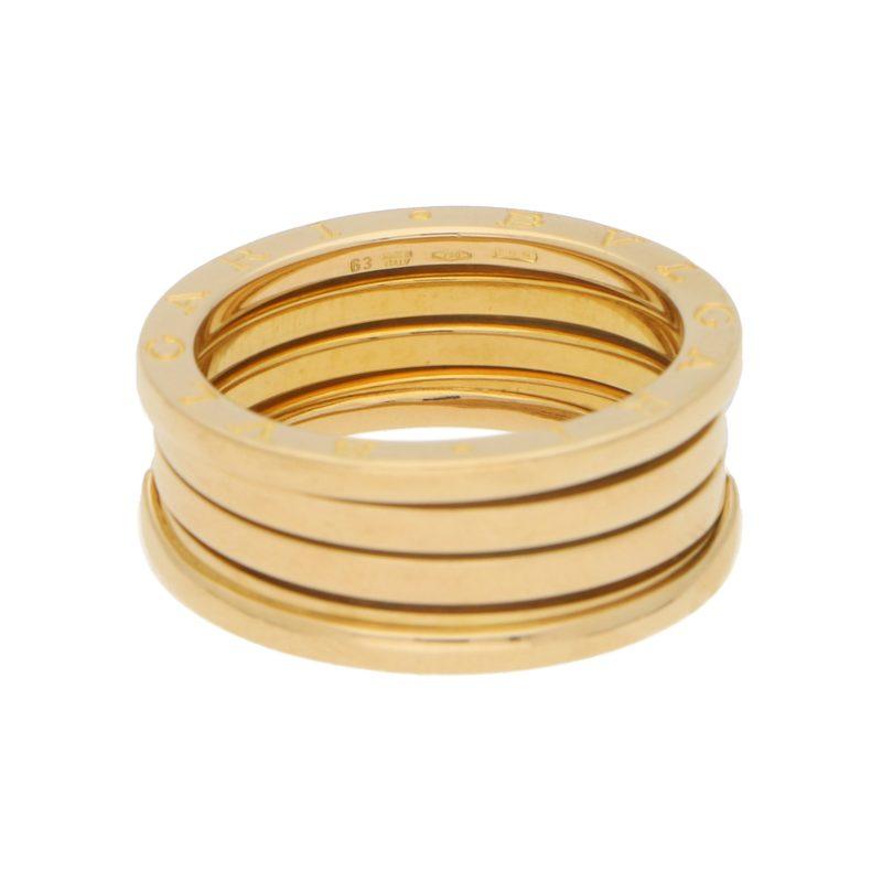 Bulgari B.zero1 Band Ring in Yellow Gold