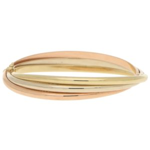 Hinged Trinity Bangle