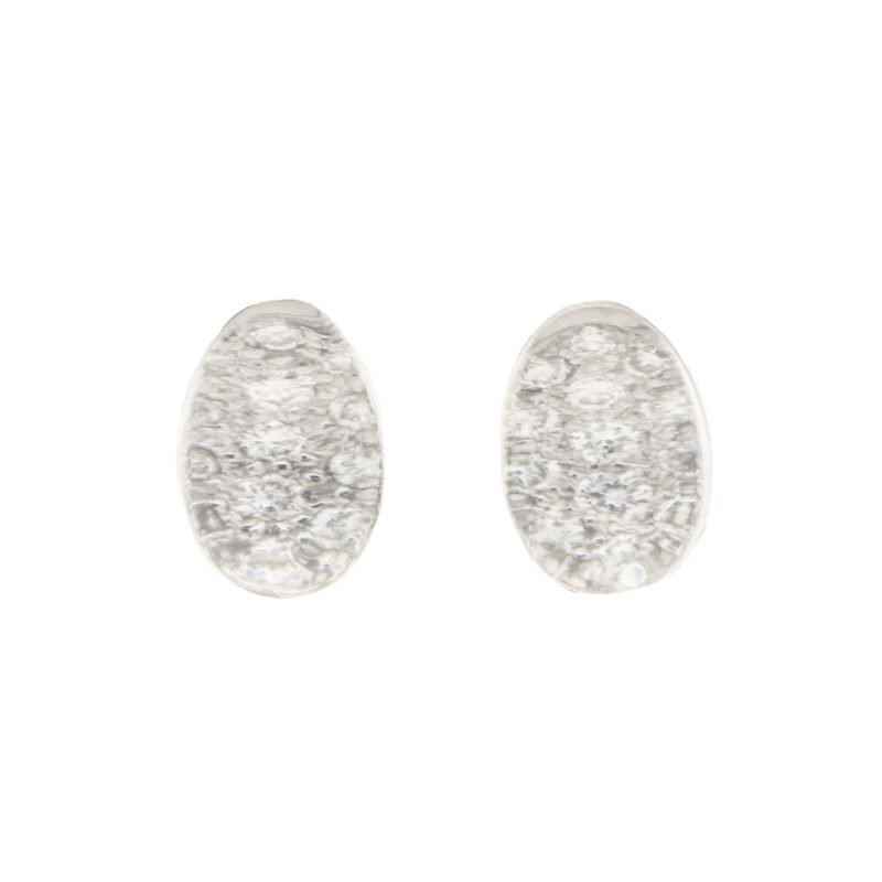 Myst De Cartier Diamond and Rock Crystal Earrings