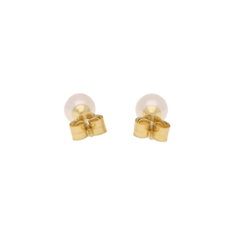 5-5.5mm Cultured Pearl Stud Earrings