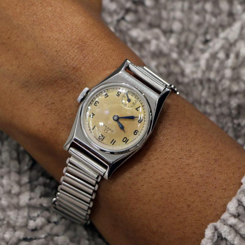 Vintage Omega Art Deco wrist watch