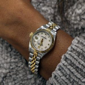 Vintage lady's Rolex wrist watch