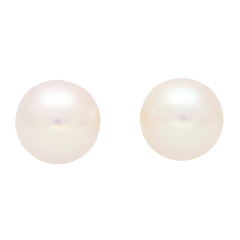 7-7.5mm Cultured Pearl Stud Earrings