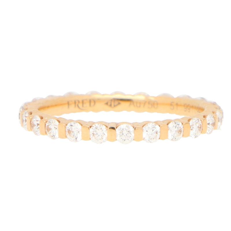 Fred Paris Diamond Full Eternity Ring