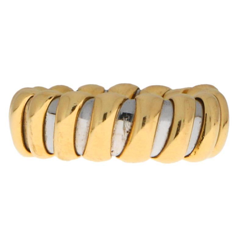 Bvlgari Tubogas Flexible Ring