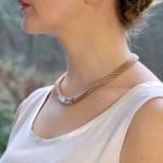 Vendome Diamond Fope Necklace