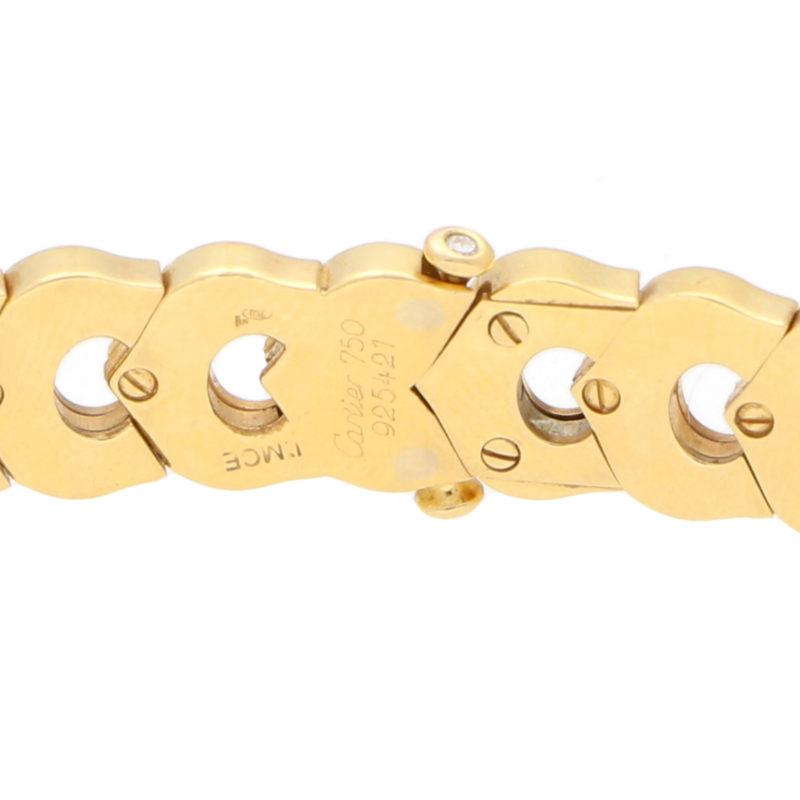 Vintage Cartier C de Cartier Necklace