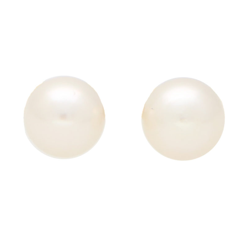 6-6.5mm Cultured Pearl Stud Earrings