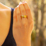 Vintage Cartier Trinity Ring Size 51