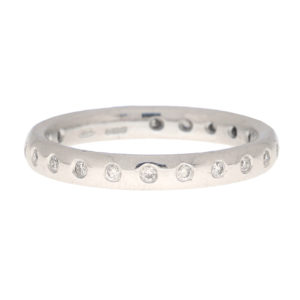 Round Cut Diamond Full Eternity Ring