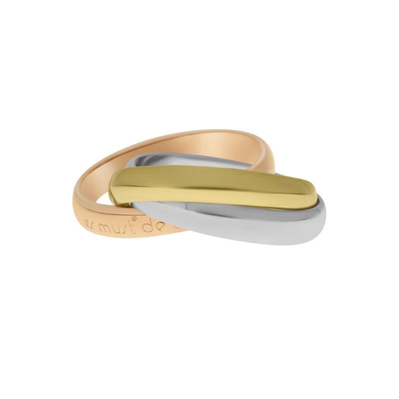 Les Must De Cartier Trinity Ring Size 50
