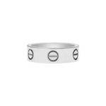 Cartier Love Ring in White Gold Size 51