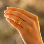Cartier Love Ring in Yellow Gold Size 48