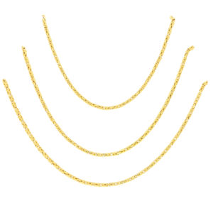 Vintage 36'' Chaumet Etruscan Style Chain