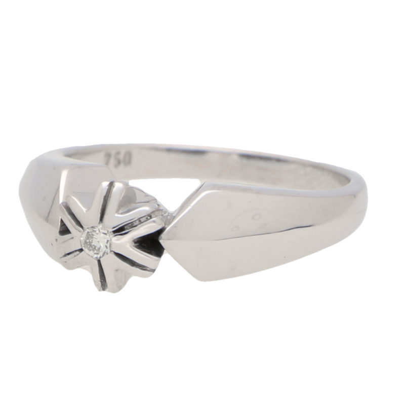 Vintage Diamond Star Ring