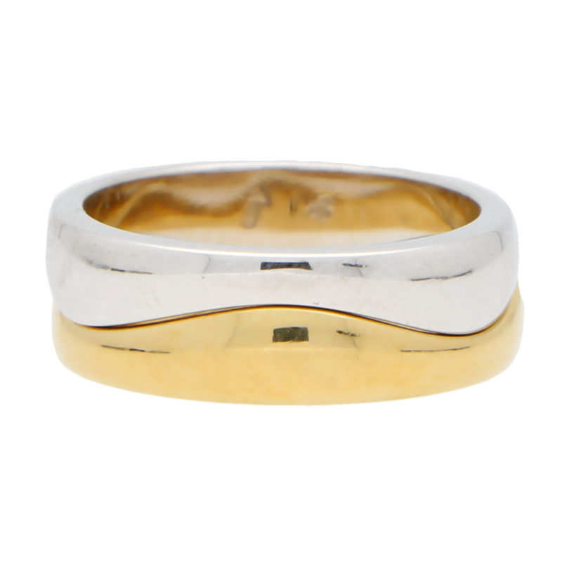 Vintage Puzzle Band Ring