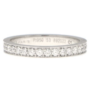 Fred Paris Diamond Full Eternity Ring in Platinum
