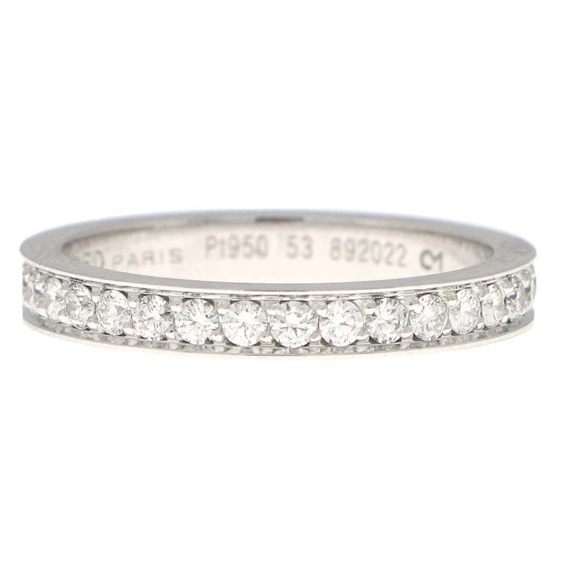 Fred Paris Diamond Full Eternity Ring in Platinum