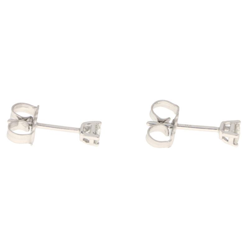 Round Cut 0.28ct Petite Diamond Studs