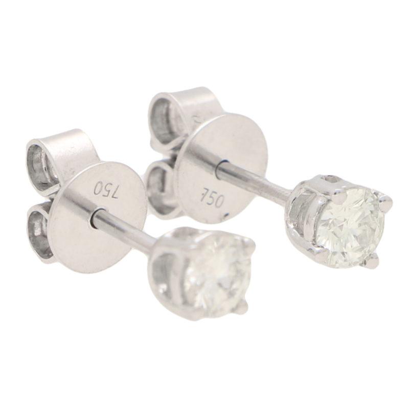 Solitaire Diamond Studs 0.50ct