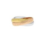 Vintage Les Must De Cartier Trinity Ring