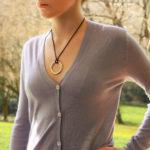 Vintage Cartier Large Trinity Pendant Necklace
