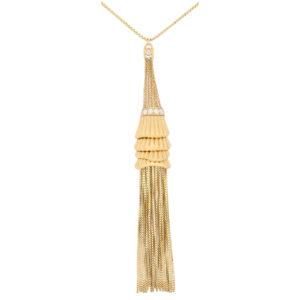 Vintage Boucheron 'Frou Frou' Diamond Tassel Necklace