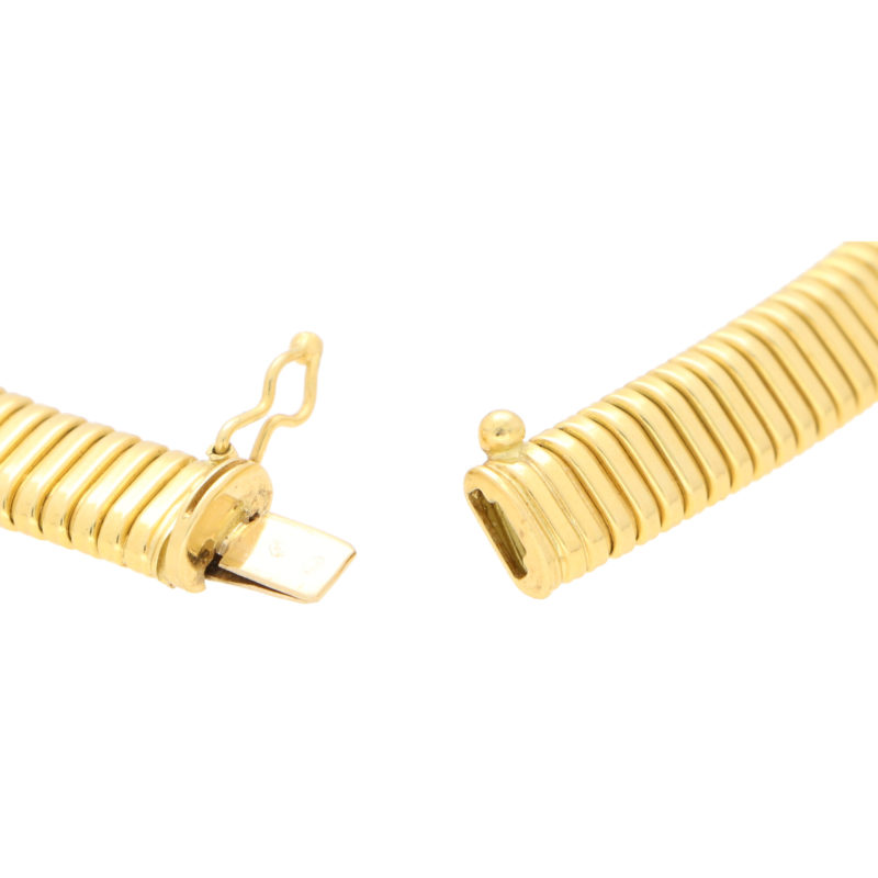 Retro Gas Pipe Collar Necklace