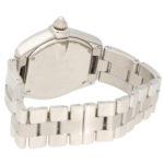 Diamond after set Cartier Roadster wrist watch