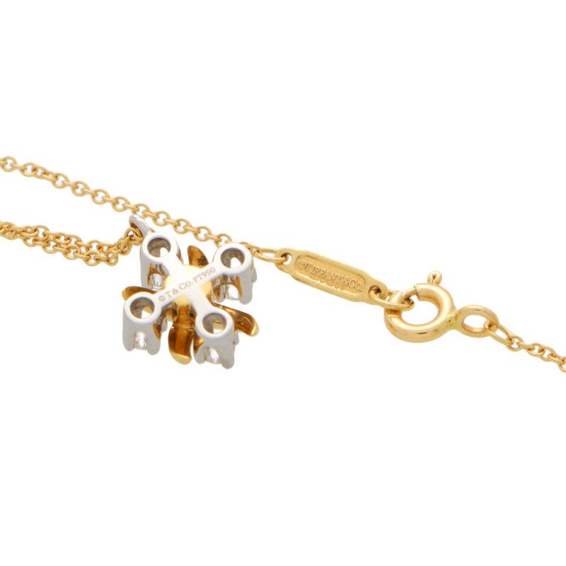Vintage Tiffany & Co. Diamond Schlumberger Lynn Pendant