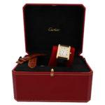 Large model 18 carat gold Cartier Tank Louis wrist watch