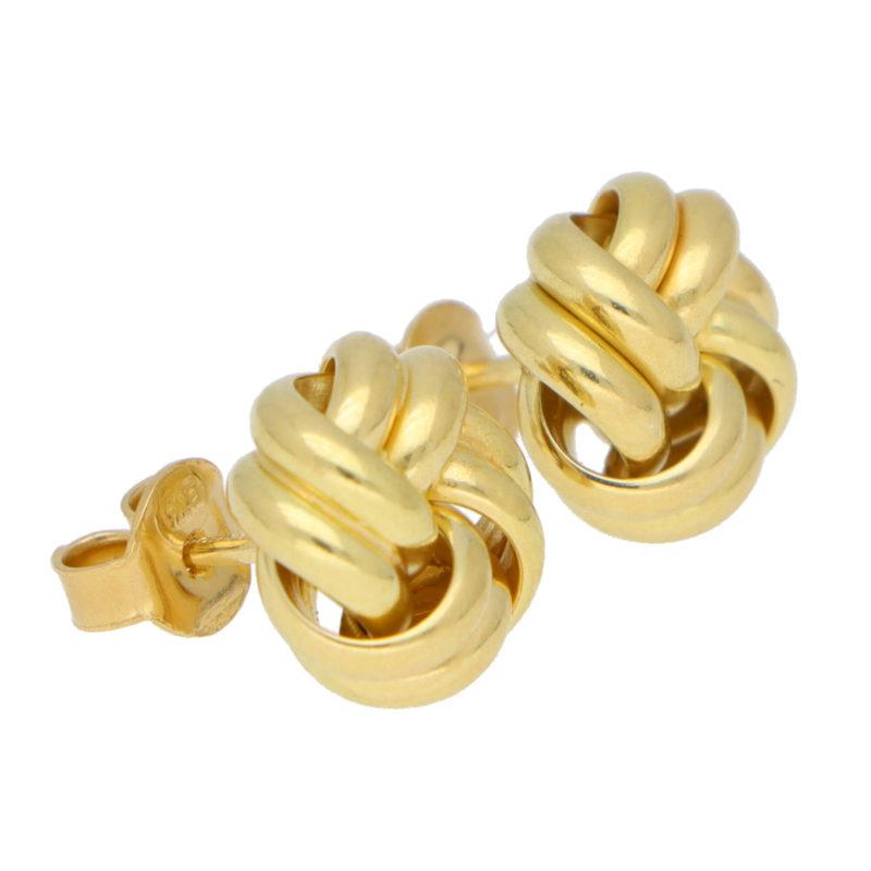 Knot Style Stud Earrings