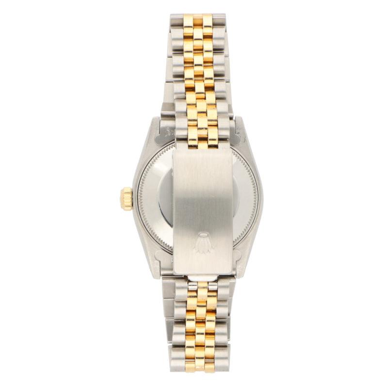 Steel and 18 carat gold Midsize Rolex wrist watch