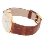 Vintage 18 carat rose gold Omega wrist watch