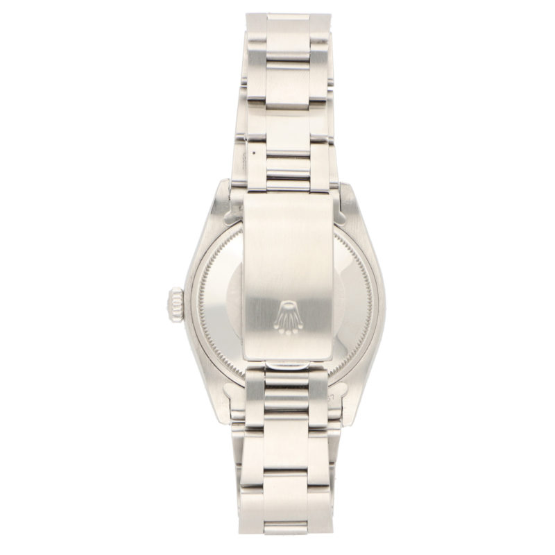 Gents stainless steel Rolex Oyster Perpetual Date wrist watch