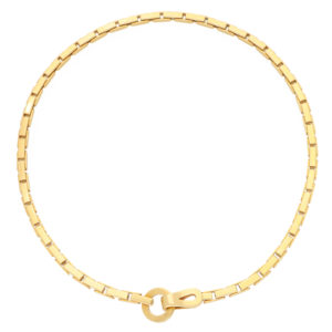 Vintage Cartier Agrafe Chunky Chain Necklace