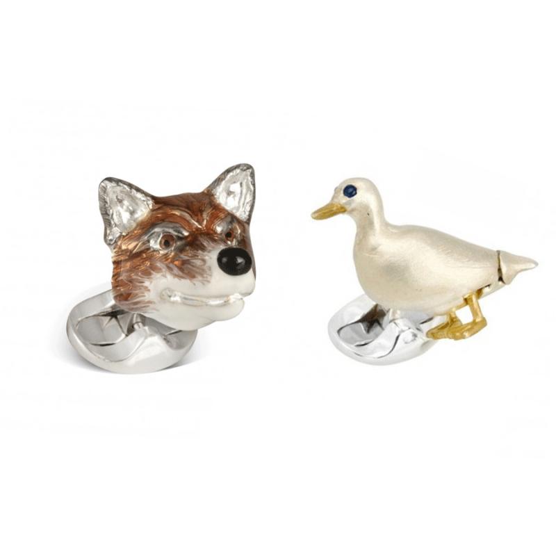 Fox & Goose cufflinks