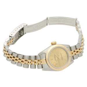 Stainless steel and 18 carat gold Rolex wrist watch