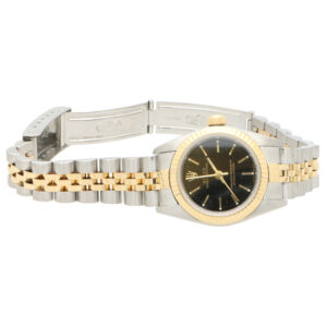 Rolex Oyster Perpetual steel and gold wrist watch